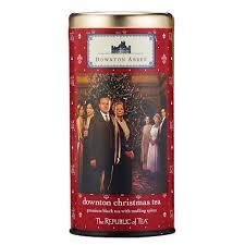 downton abbey christmas tea 36 tea bags shop pbs org