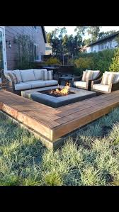 deck protect fire pit pad deck design and ideas