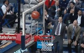 basketball bench celebrations uconn bench goes wild as walk on pat lenehan hits 3 pointer in