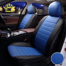 housse de siege auto cuir de luxe en cuir pu auto universel de voiture housse de siège