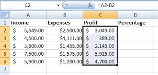 percentage calculator excel how to calculate profit in excel and keep track of your expenses