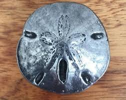 sand dollar cabinet knobs seashell hardware etsy