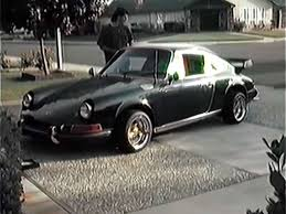 porsche 911 vintage vintage porsche 911 lowrider shows its hydraulics the