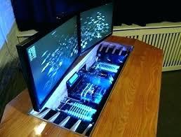 Computer Desk Gaming Custom Built Computer Desks Computer Desk Build Custom Built