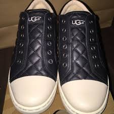 quilted ugg boots sale 50 ugg shoes authentic black leather quilted ugg sneakers