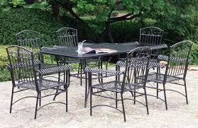 Iron Patio Dining Set Creative Of Outdoor Furniture Wrought Iron Dining Sets Dining Room