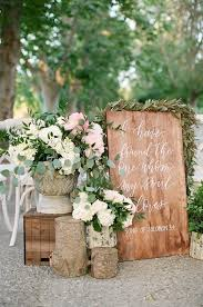 rustic wedding ceremony best 25 ceremony signs ideas on pinterest