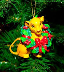 disneys the king simba ornament disney