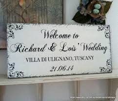 wedding sign welcome to our wedding and groom signs mr