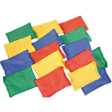 play bean bags bulk saver from early years resources uk