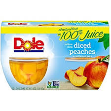 dole fruit bowls diced in 100 fruit juice 4