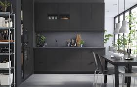 Black Metal Kitchen Cabinets Kitchen Cabinets Light Counter Kitchen Color Ideas With Wood