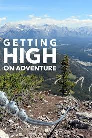 Banff Norquay Via Ferrata Iron Road to the Sky
