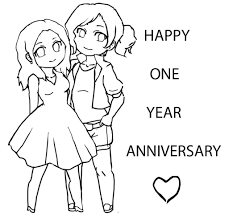 anniversary coloring pages cecilymae