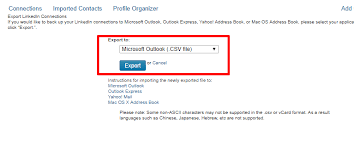 csv format outlook import how to import export contacs from linkedin profile teamgate