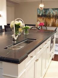 Kitchen Island With Black Granite Top Kitchen Cheap Kitchen Countertops Black Countertops Kitchen