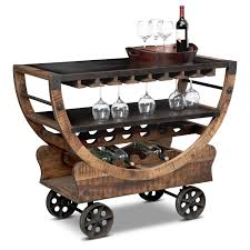 Wine Bar Table Bars Bar Tables Dining Accents Value City Furniture And