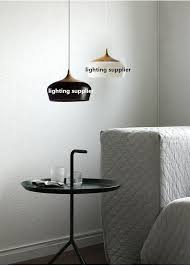 Modern Pendant Light by Modern Pendant Light Wood And Aluminum Lamp Black White