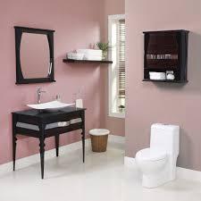 Two Vanities In Bathroom by Decolav Natasha Bathroom Vanity In Two Finishes Black Limba Body