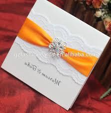 handmade wedding invitations luxury lace handmade wedding invitation card designs view