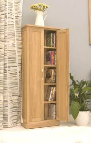 Dvd Storage Cabinet With Doors Oak Dvd Storage Cabinet With Glass Door Dvd 48 High Maple Usa Made