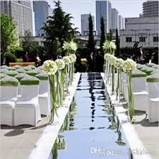 Wedding Aisle Runner Big Discount Fashion Wedding Aisle Runner Silver Mirror Carpets 1