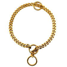 steel choker necklace images 3mm diameter dog choke chain choker collar strong silver gold jpg