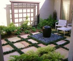 traditional fenced front yard courtyard ideas california front