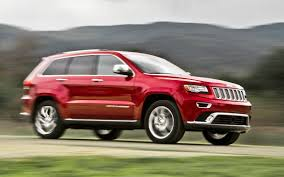 jeep grand cherokee limited 2017 red 2014 jeep grand cherokee summit ecodiesel first test truck trend