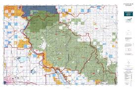 Billings Montana Map by Mt Deer Elk Gmu 392 Map Mytopo