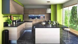 cuisine gris et vert anis décoration cuisine grise et vert anis 83 boulogne billancourt