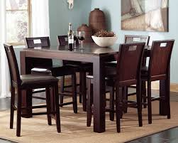 high dining room table and chairs excellent high kitchen table sets dining room ideas uk