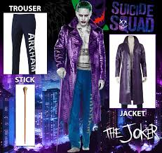 Halloween Joker Costume Halloween Villains Costumes Leather Jackets Usa Cheap Leather