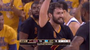 Kevin Love Meme - did lebron leave kevin love hanging on a high five vice sports