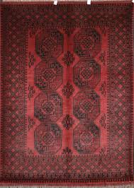 Oriental Rug Styles Afghan Red Rugs Aqcha Rugs Origin And Description Guide