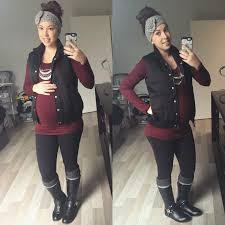 Cold Weather Maternity Clothes Flannel Plaid Layering And Winter