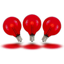Red Led Light Bulb by Buy G40 Led Globe Light Bulbs Novelty Lights Inc