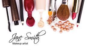 bold and hip makeup artist business card design 601101