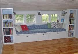 Storage Seat Bench Window Bench With Storage Treenovation