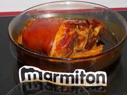 cuisine jarret de porc jarret de porc braisé à la bière brune recette de jarret de porc