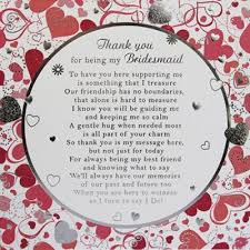 bridesmaid card wording 14 best wedding thank yous images on wedding stuff