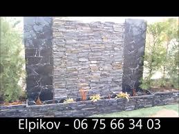 mur deco pierre les murs d u0027eau et les cascades de la pierre des balkans youtube