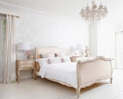 delphine french upholstered bed shabby chic style bedroom