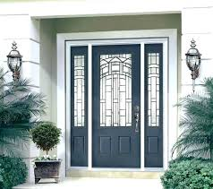 Fiberglass Exterior Doors With Sidelights Front Entry Door With Sidelights And Transom S Lights Fiberglass