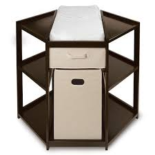 Espresso Changing Table Espresso Corner Changing Table Free Shipping Today Overstock