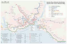 Spain Rail Map by Istanbul Rail Transit Network Map U2022 Mapsof Net