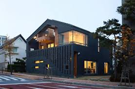 single houses kangaroo single house with two houses within by hyunjoon yoo