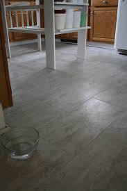 Groutable Vinyl Floor Tiles by Tips For Installing A Kitchen Vinyl Tile Floor Merrypad