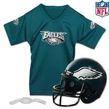 Custom Flag Football Jerseys Nfl Youth Football Helmet U0026 Jersey Set Franklin Sports