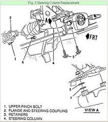 diagram of steering column no tilt fixya